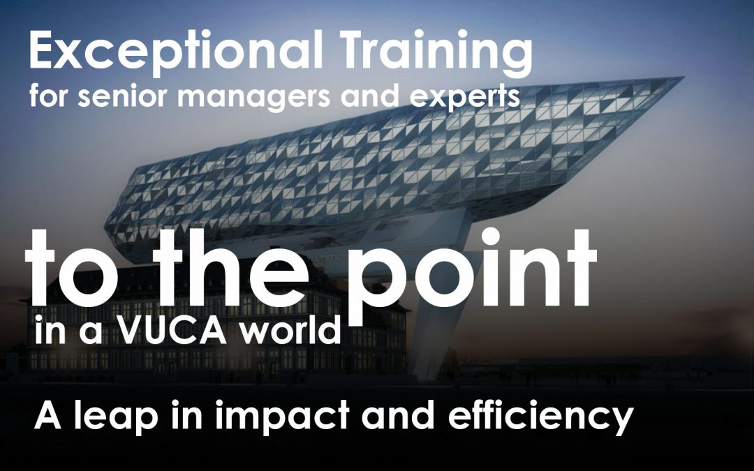 Open training – October 2017 – To The Point for senior managers